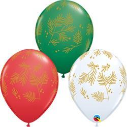 Qualatex Balloons Contemporary Evergreen Asst 28cm