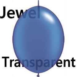 Quicklink Balloons 15cm Sapphire Blue Qualatex