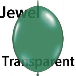 Quicklink Balloons 15cm Jewel Emerald Green Qualatex