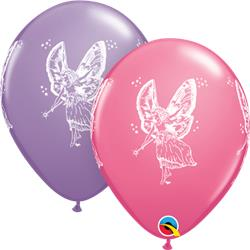 Qualatex Balloons Fairies Asst Rose & Spring Lilac 28cm.25 count