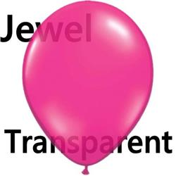 Qualatex Balloons Jewel Magenta 28cm