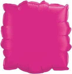 Qualatex Balloons 23cm Square Magenta
