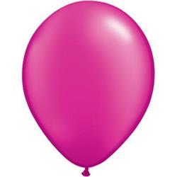 Qualatex Balloons Pearl Magenta 28cm