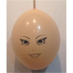 Face on Qualatex Blush Quick Link 30cm