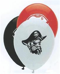 Pirate Party Mix Latex 30cm 2 sided print Single Pack