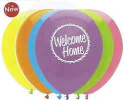 Welcome Home Mix Latex 30cm 2 sided print Single Pack