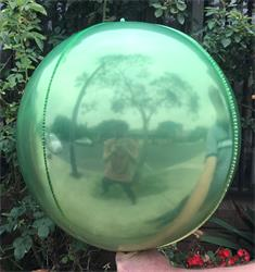Sphere 40cm Green and Yellow Ombre Unpackaged