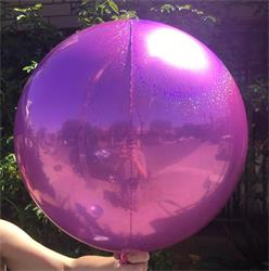 Prismatic Sphere 40cm Magenta Unpackaged