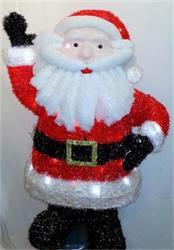 Jumbo Santa LED 1mtr