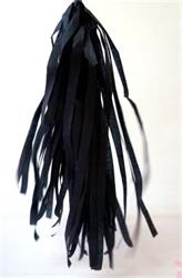 Tassels Quality Tissue 30cm Black Pre-Cut - pack 16