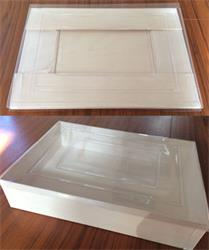 Eco Wooden Collapsible Tray with Lid