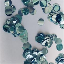 Confetti Metallic 1cm circles Light Blue 500 grams