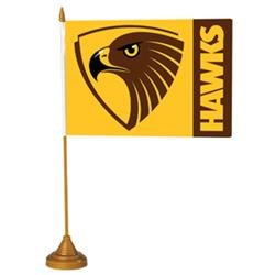 AFL Hawthorn Flag Desk