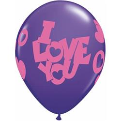 I Love You Contempo Hearts 28cm